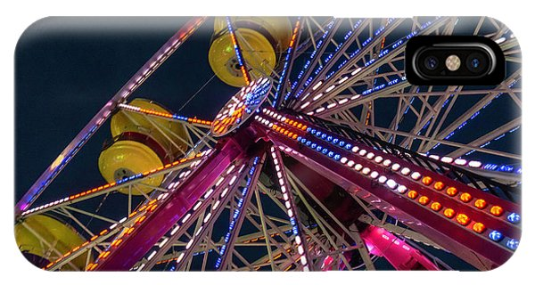 Ferris Wheel At Night IPhone Case