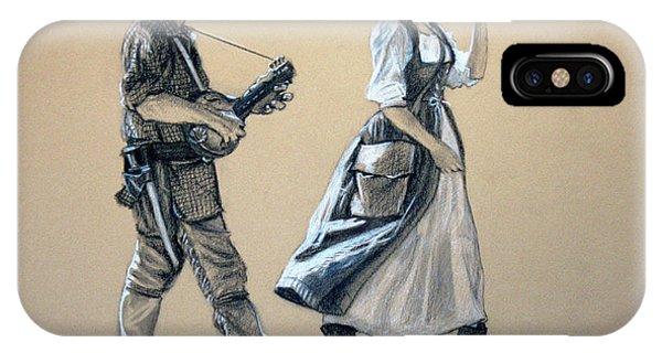 Fiddler's Daughter IPhone Case