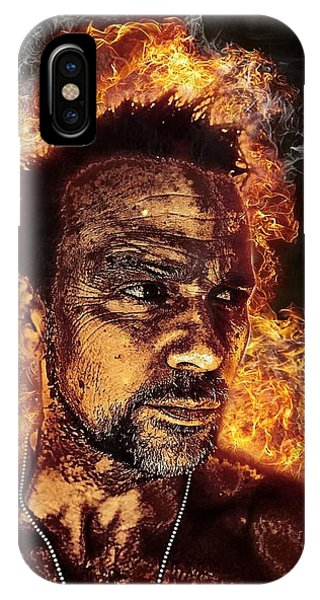 Fiery Flanery IPhone Case