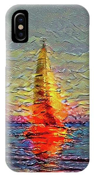 Fiery Kiss IPhone Case