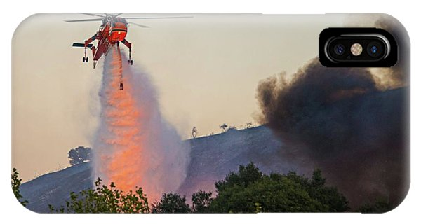 IPhone Case featuring the photograph Fighting Fire With Fire by Lynn Bauer