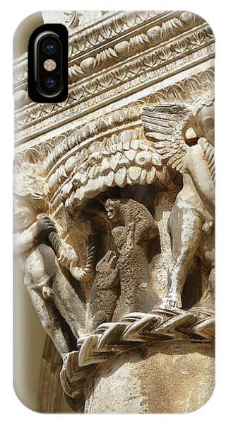 Figures On Capitals Of The Rector's Palace IPhone Case
