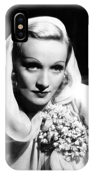Leading Actress iPhone Case - Film Still From The Garden Of Allah, 1936 by European School