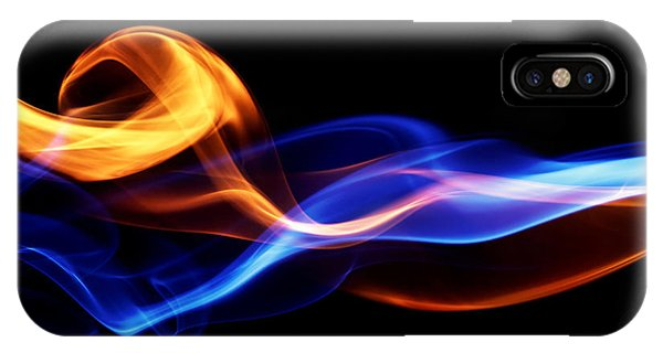 Space iPhone Case - Fire & Ice Design by Leigh Prather
