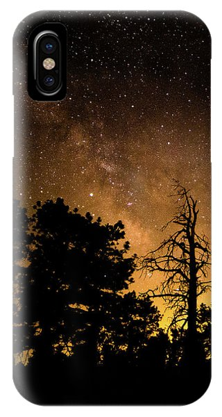 Fire And The Milky Way IPhone Case