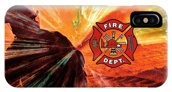 Fire Fighting 1 IPhone Case