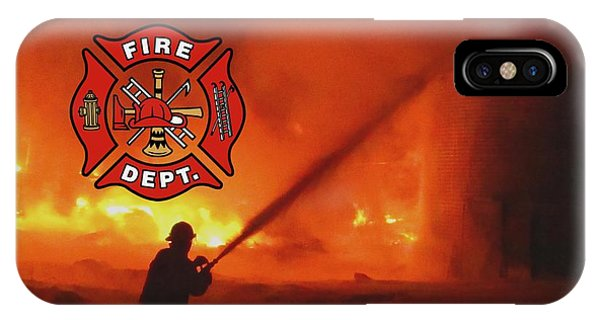 Fire Fighting 5 IPhone Case