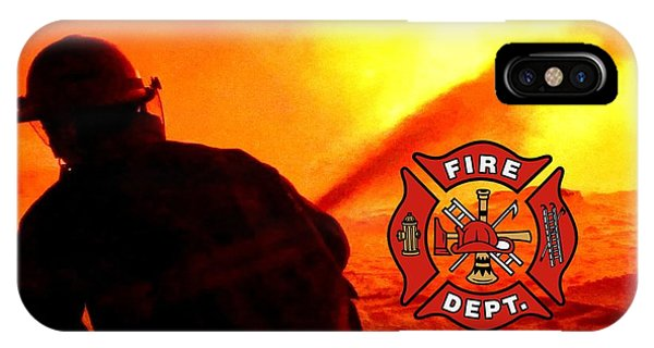 Fire Fighting 6 IPhone Case