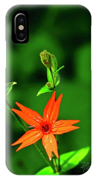IPhone Case featuring the photograph Fire Pink by Meta Gatschenberger