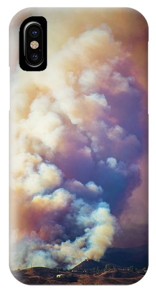 IPhone Case featuring the photograph Fire Power by Lynn Bauer