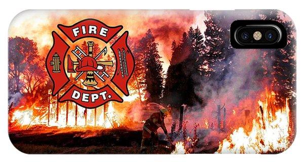 Firefighting 2 IPhone Case
