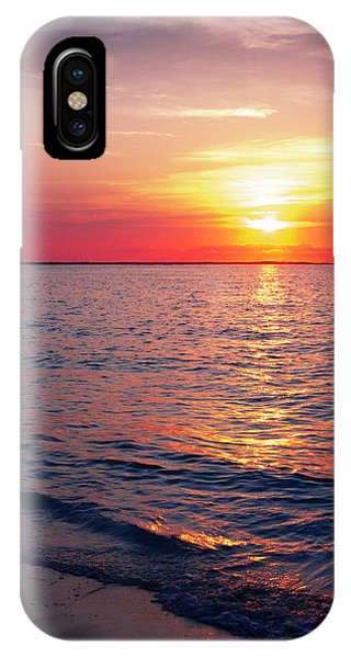 Grace iPhone X Case - First by Chad Dutson