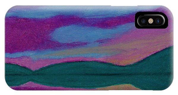 iPhone Case - First Light Abstract by Thomas R Fletcher
