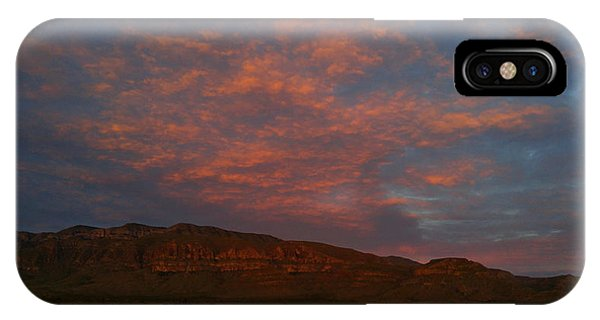 First Light Over Texas 3 IPhone Case