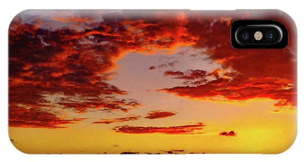 First November Sunset IPhone Case
