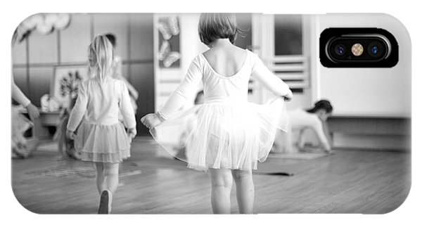 Developed iPhone Case - First Steps Of Small Ballerinas by Anna Jurkovska