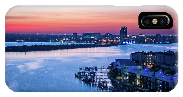 Firstlight Over Clearwater IPhone Case