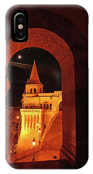 iPhone Case - Fisherman's Bastion By The Light Of The Moon by Kathy Yates