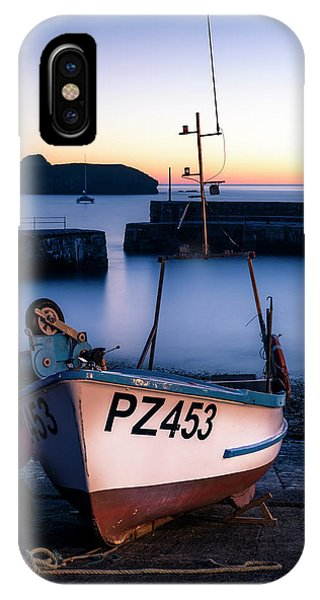 Fishing Boat In Mullion Cove IPhone Case