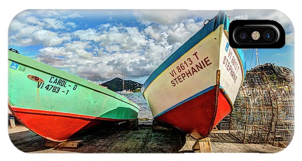 Fishing Boats In Frenchtown IPhone Case