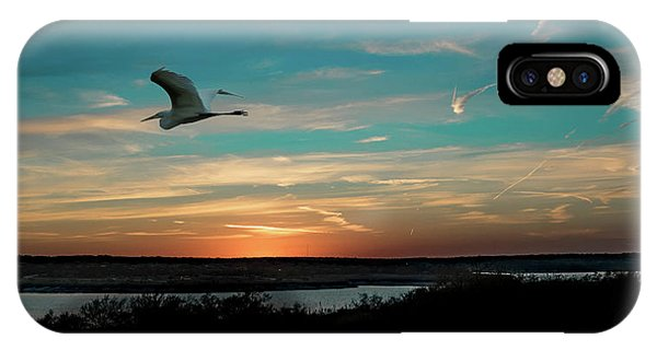Flight To The Lake IPhone Case