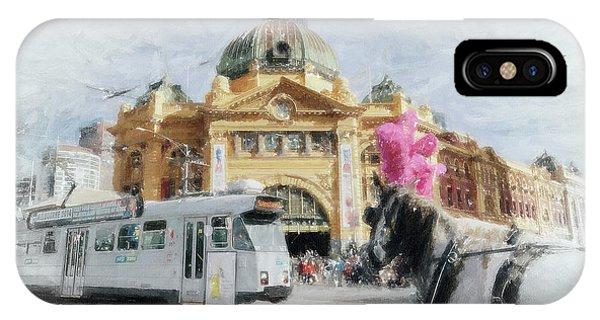 Flinders Street Station, Melbourne IPhone Case