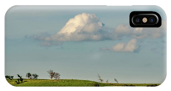 IPhone Case featuring the photograph Flint Hills Horizon by Jeff Phillippi