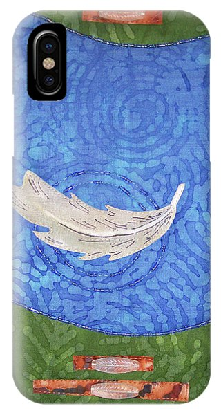 Floating Feather IPhone Case