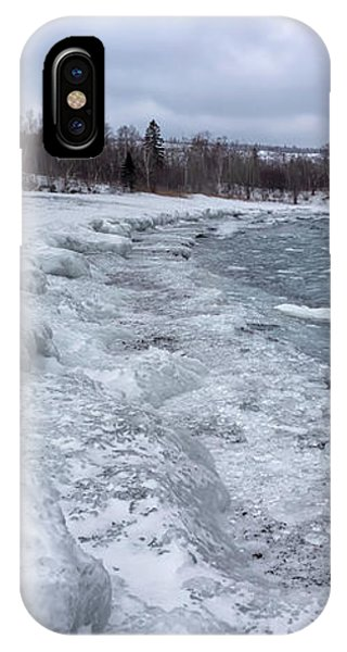 IPhone Case featuring the photograph Floating Ice by Susan Rissi Tregoning