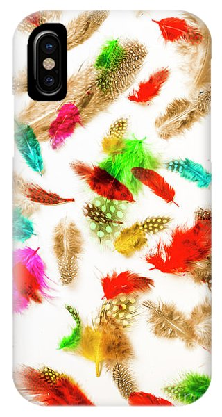 Plumes iPhone Case - Floating In Colourful Abstract by Jorgo Photography - Wall Art Gallery