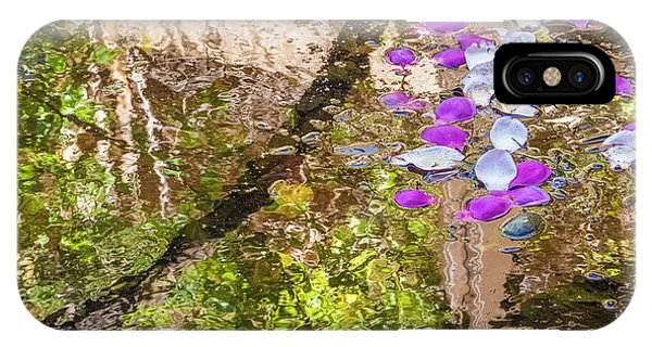 Floating Magnolia Petals IPhone Case