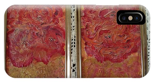 Floral Abstract 2 IPhone Case