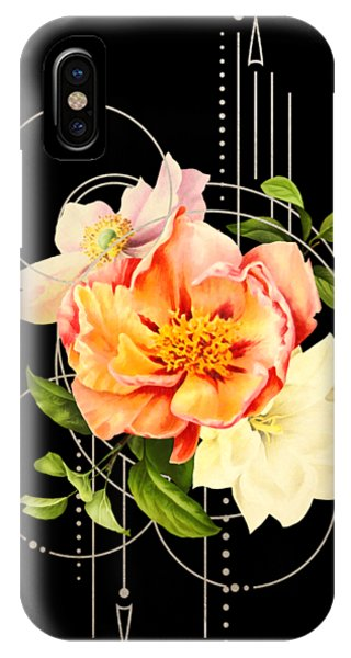 Floral Abstraction IPhone Case