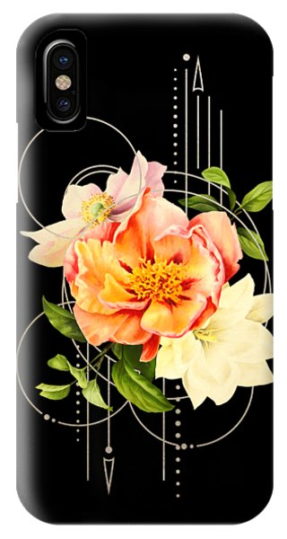 IPhone Case featuring the digital art Floral Abstraction by Bee-Bee Deigner