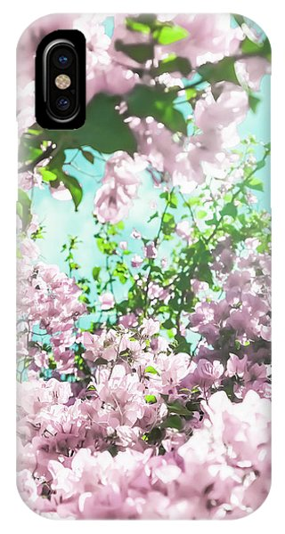 Floral Dreams Iv IPhone Case