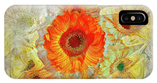 IPhone Case featuring the digital art Floral Joy by Edmund Nagele