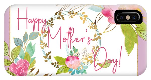 Floral Mother's Day Art IPhone Case