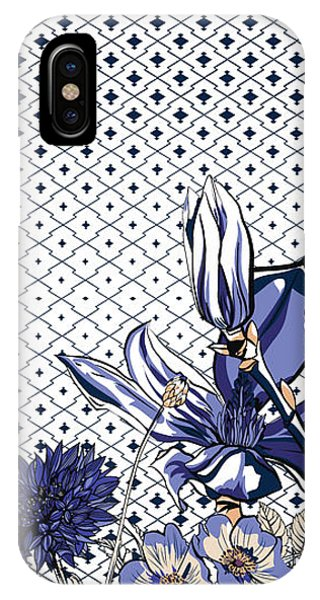 Digital Image iPhone Case - Floral Print by Gettdesign