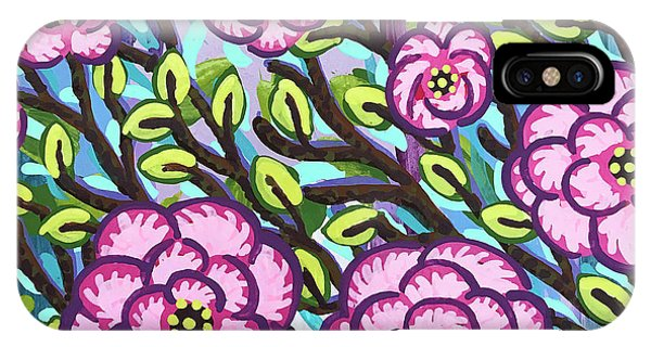 Floral Whimsy 3 IPhone Case