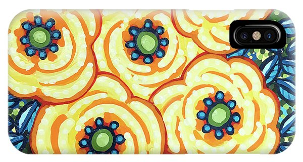 Floral Whimsy 7 IPhone Case