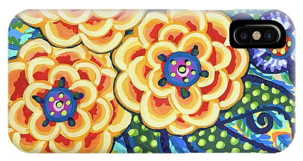 Floral Whimsy 9 IPhone Case