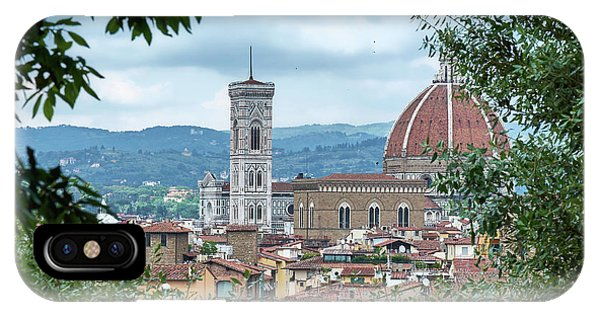 Florence And The Cathedral From The Boboli Gardens IPhone Case