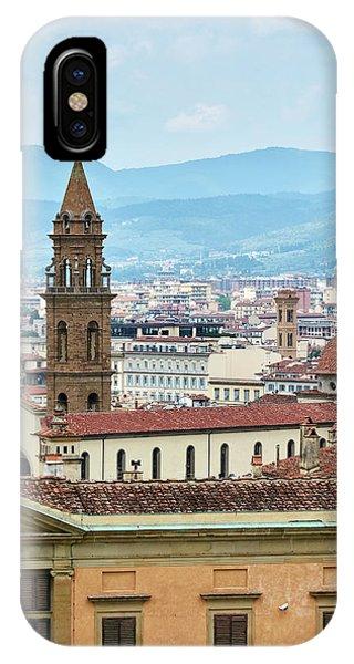 Florentine Cityscape IPhone Case