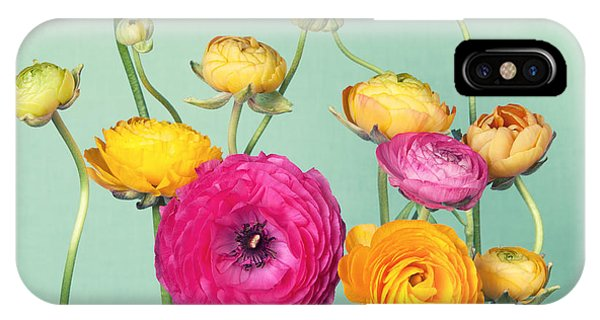 Present iPhone Case - Flower Arrangement Of Colorful by Ilight Photo