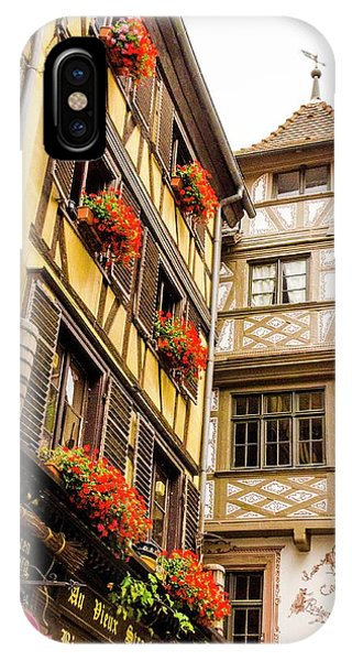 Flower Boxes Strasbourg IPhone Case
