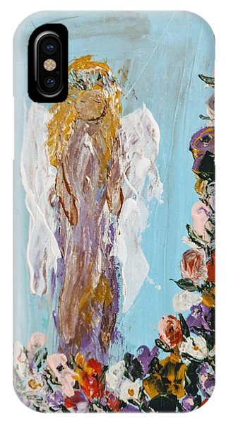 Flower Child Angel IPhone Case