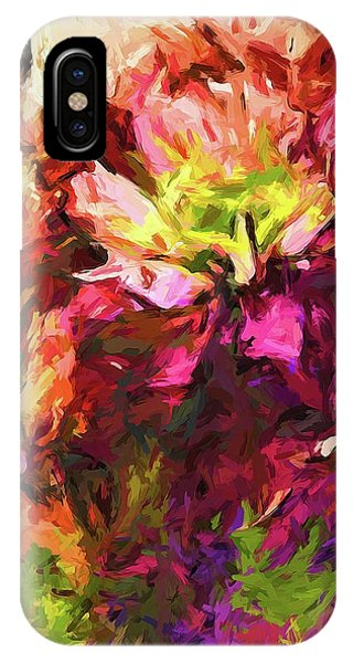 Flower Colour Love 2 IPhone Case
