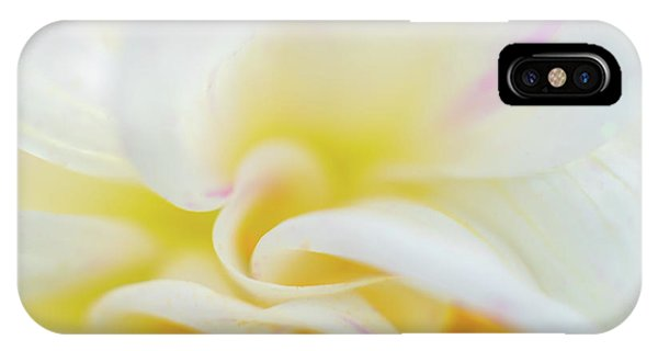 IPhone Case featuring the photograph Flower Curves by Francisco Gomez