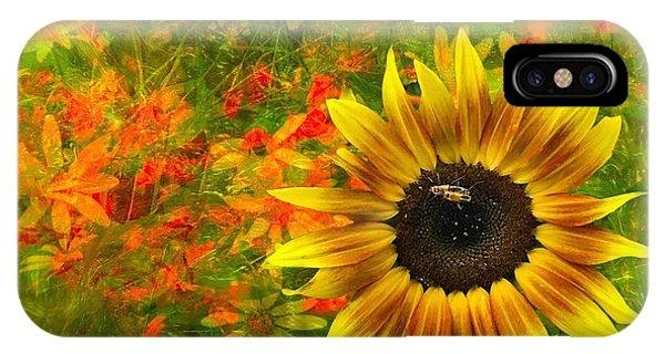 Flower Explosion IPhone Case