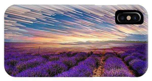 Flower Landscape IPhone Case